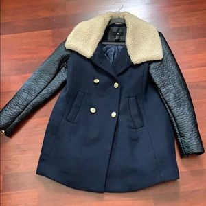 Jackets & Blazers - Fleece Collar Winter Coat